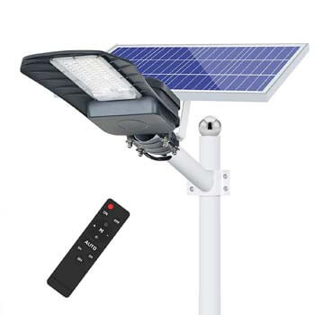 4: HYPOW 200W Solar Street Light Outdoor