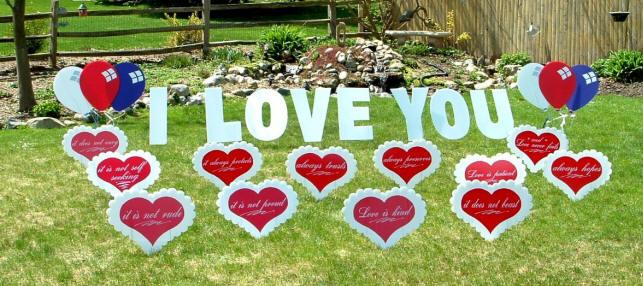 lawn Signs for your Loved one