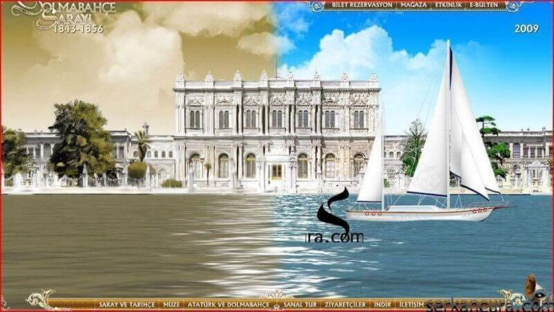 Dolmabahçe Sarayı görsel ziyafeti