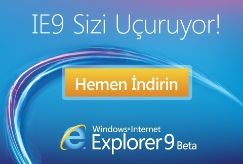 IE9 Beta yayınlandı!