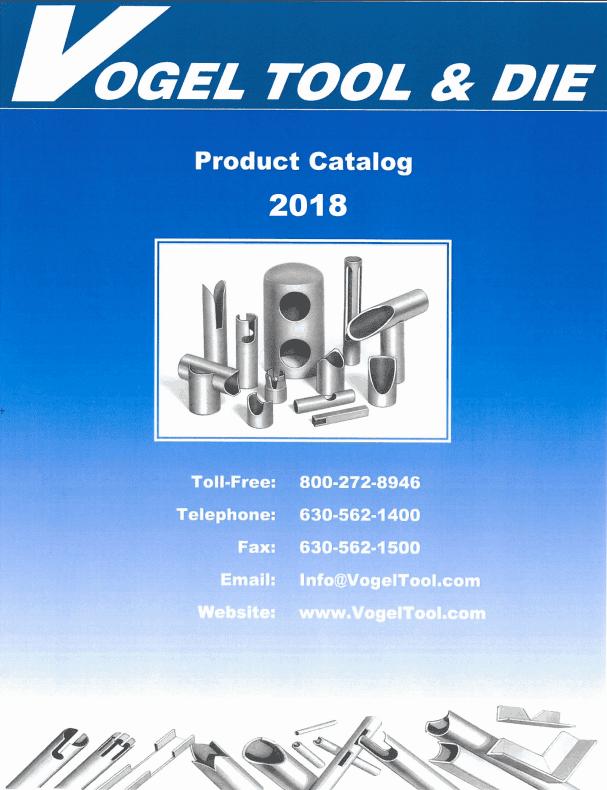 vogel tool 2019 catalog