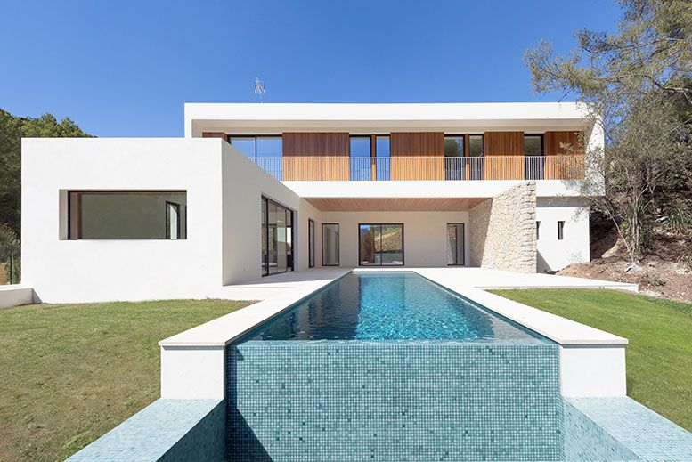fotografía arquitectónica. casa de lujo en mallorca