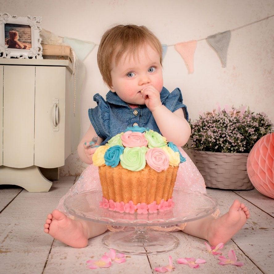 bebe smash cake reportaje foto xisco fuster