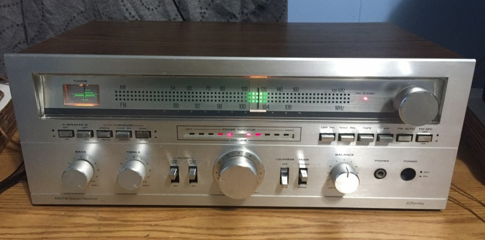 My 1981 JCPenny Stereo Receiver