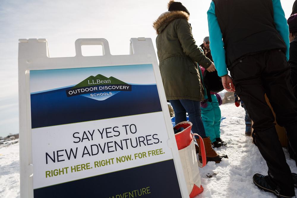 LL Bean Outdoor Discovery School WinterKids Sponsor Feature