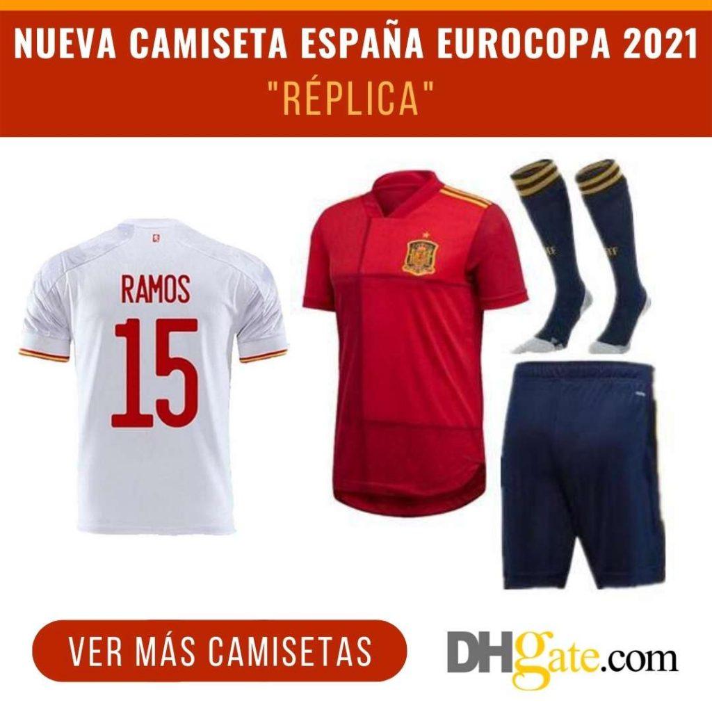 nueva camiseta espana eurocopa 2021 replica dhgate