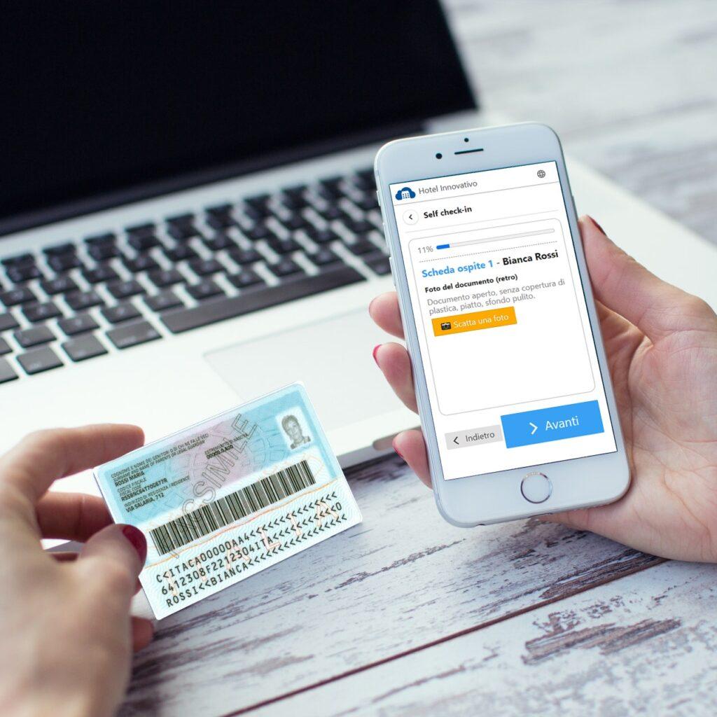 App Welcome, un'area riservata per i tuoi clienti, dove abilitare funzionalità in fai-da-te sulla loro prenotazione