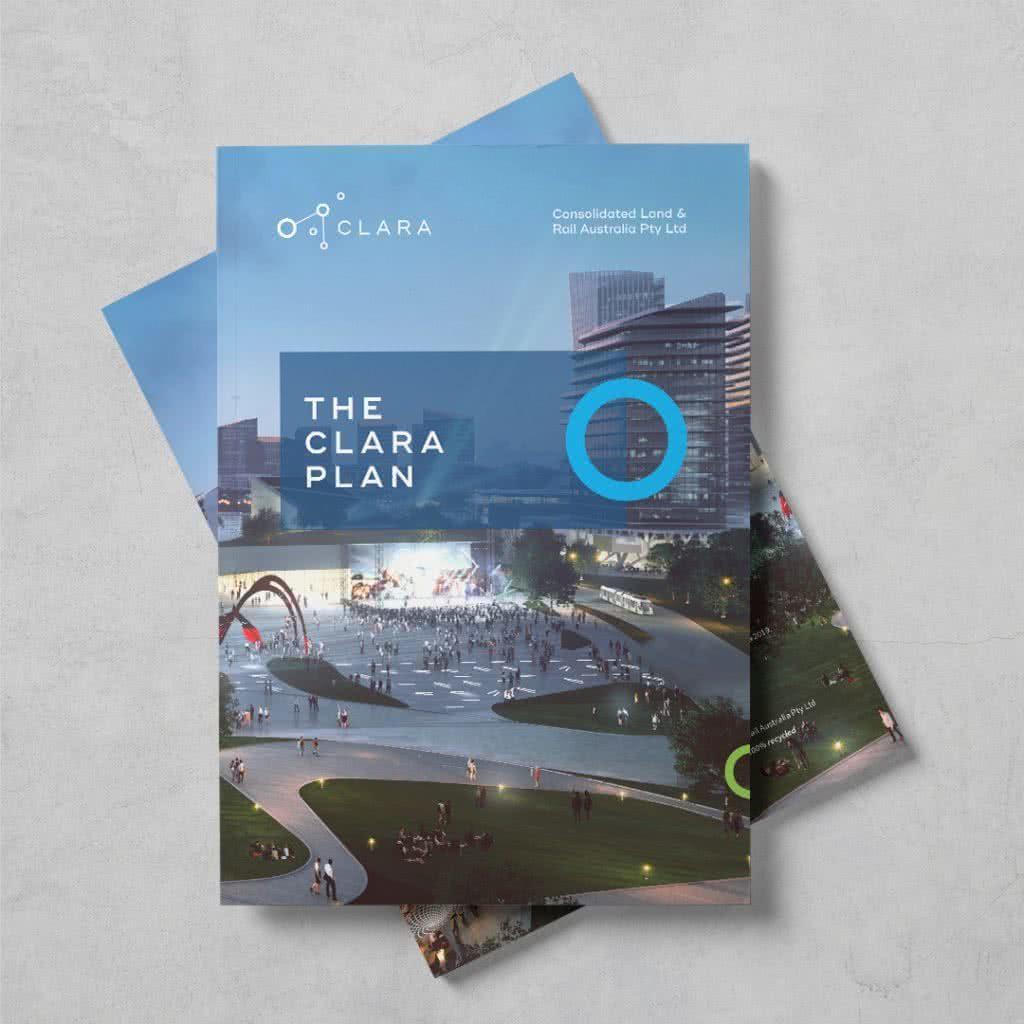 CLARA 'The CLARA Plan' book cover