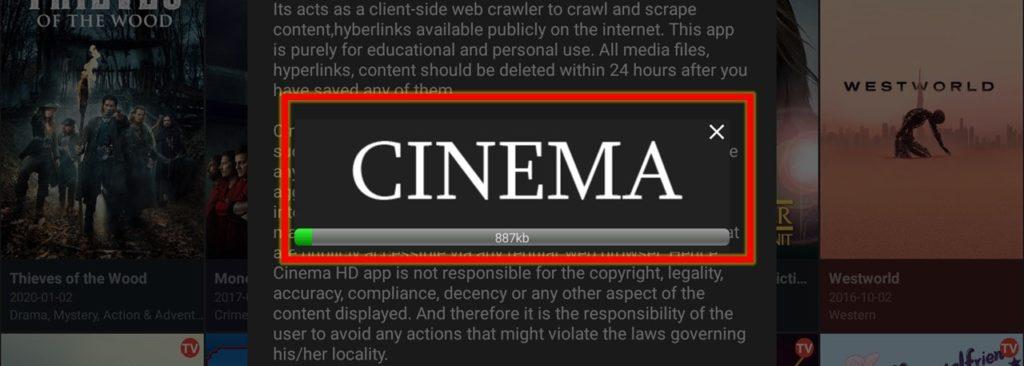 Cinema apk update firestick