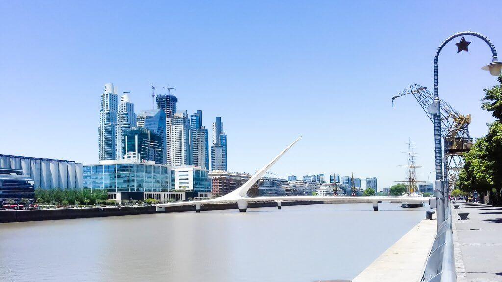 Travel Inspiration Buenos Aires in 15 photos - Puente de la Mujer