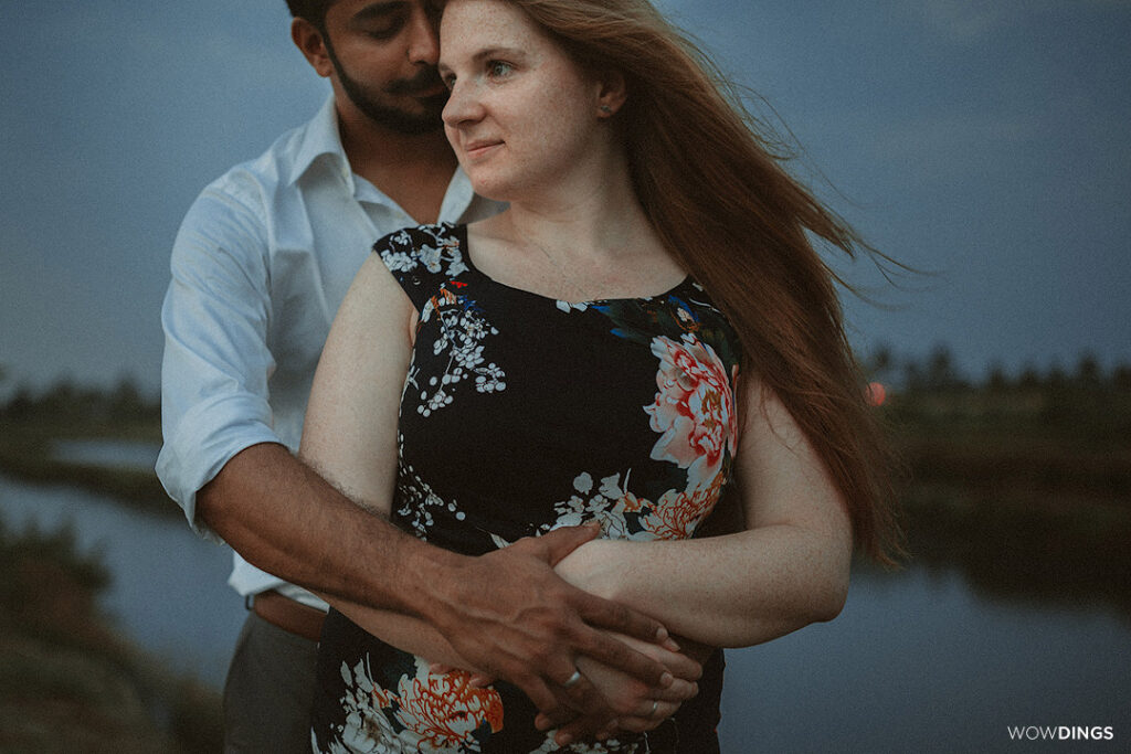 minimal Couple portraits in Kerala