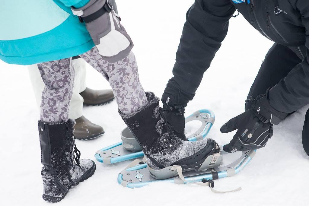 LL Bean Kids Snowshoes WinterKids Sponsor Feature