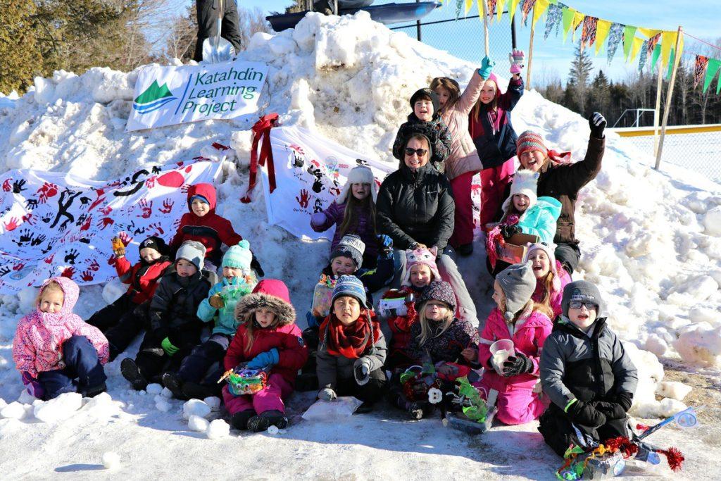 Katahdin Elementary School Winter Games 2020 Week 4