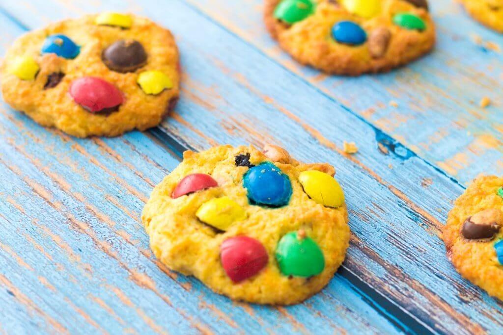 Peanut M&M Cookies - Easter Cookies