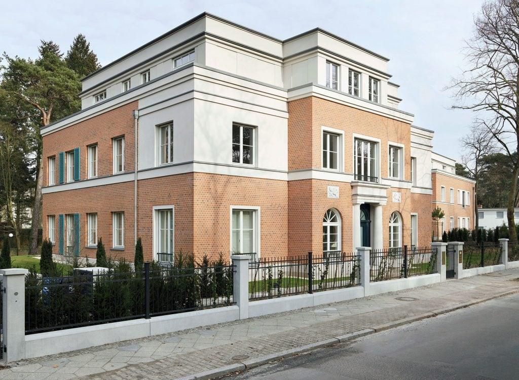 Menzelstraße Berlin-Grunewald Aussenfassade