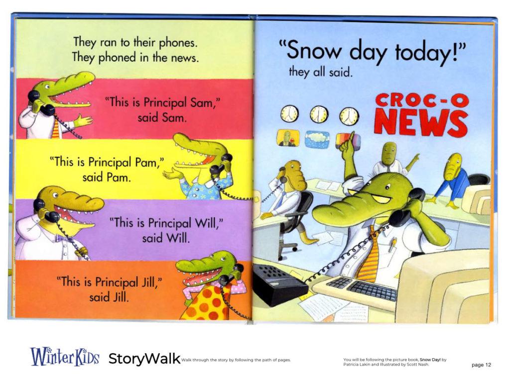 WinterKids Story Walk Page 13