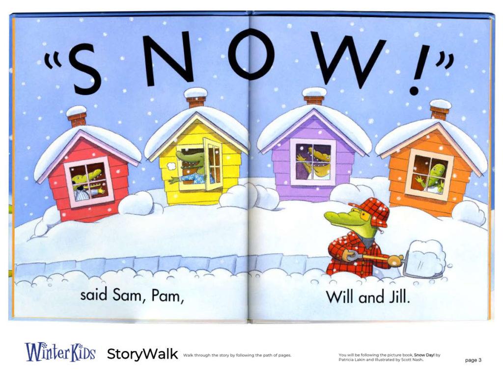WinterKids Story Walk Page 4