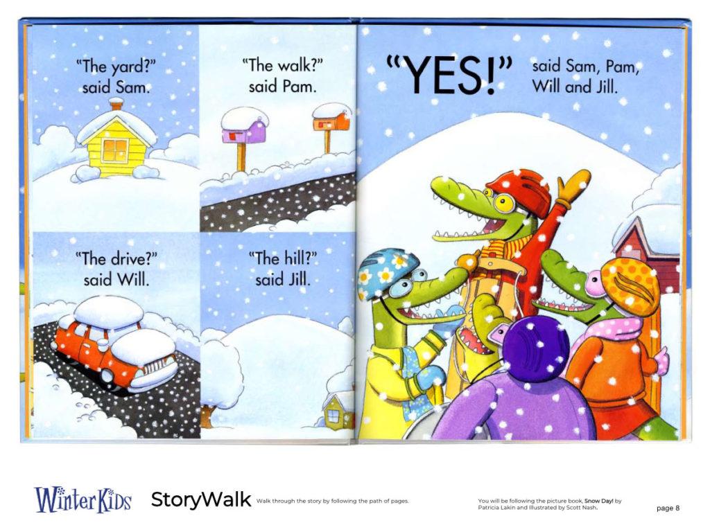 WinterKids Story Walk Page 9