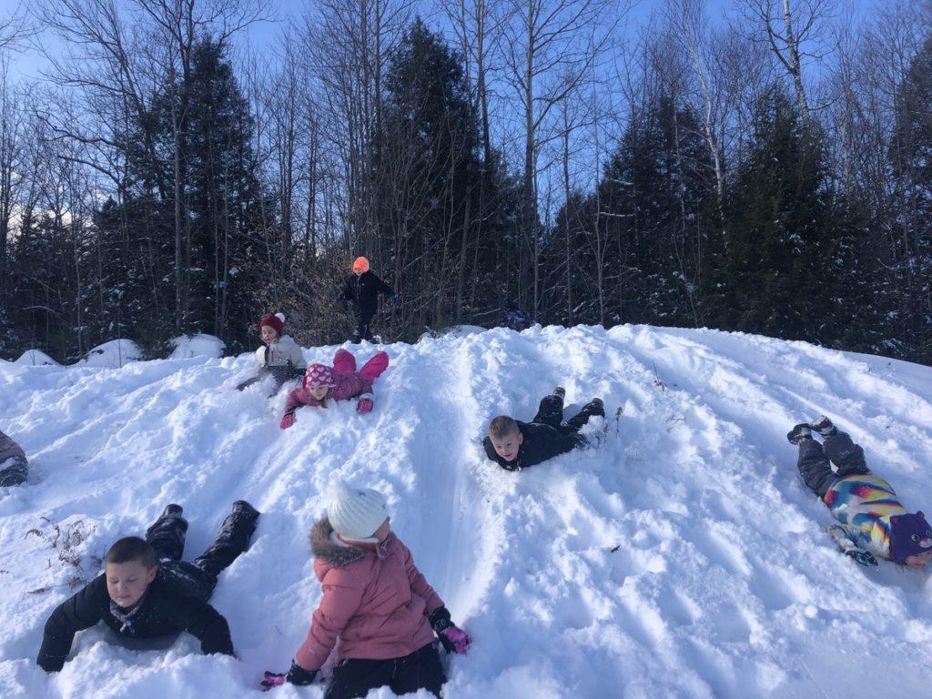 Dirigo Elementary School Winter Games 2020 Week 1