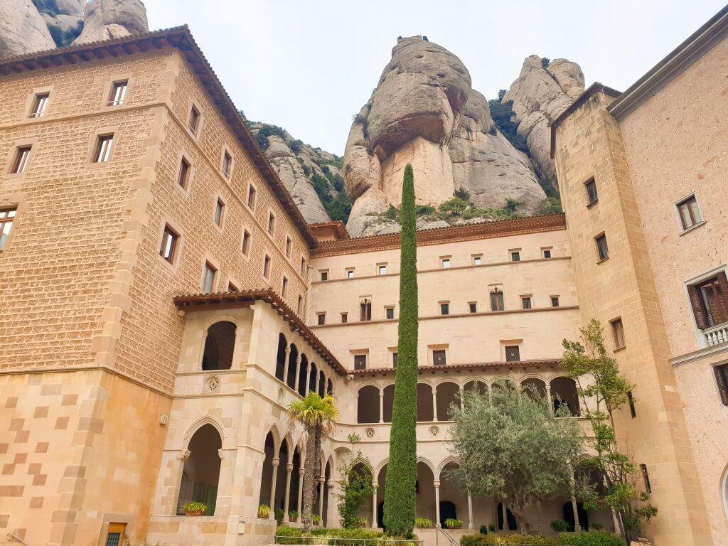 Montserrat - day trip from Barcelona - Monastery