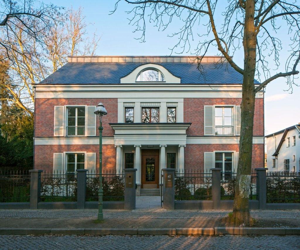 Berlin-Dahlem Haus Weyhe Aussenansicht