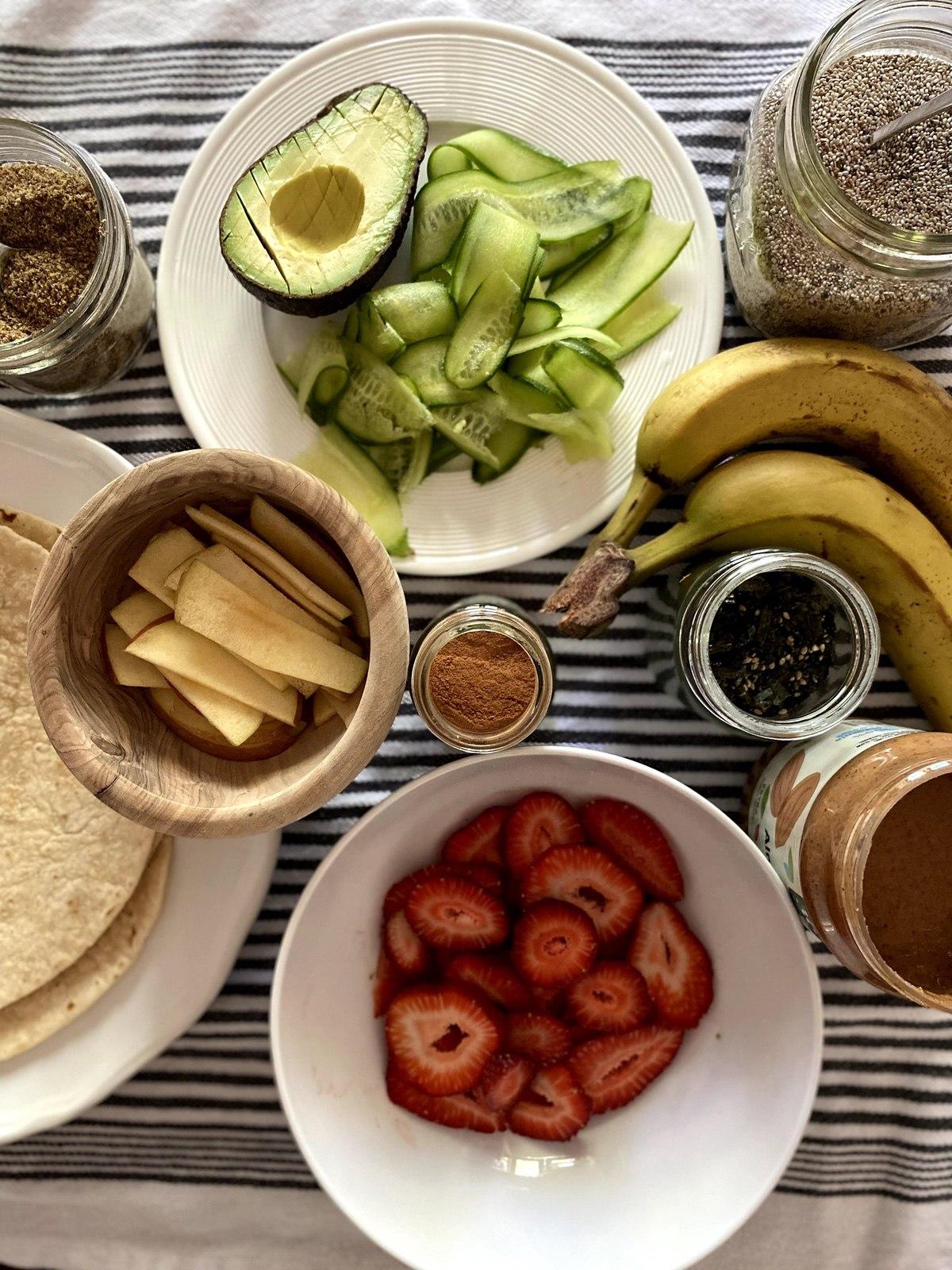 WinterKids Fruit and Veggie Sushi IMG 5038