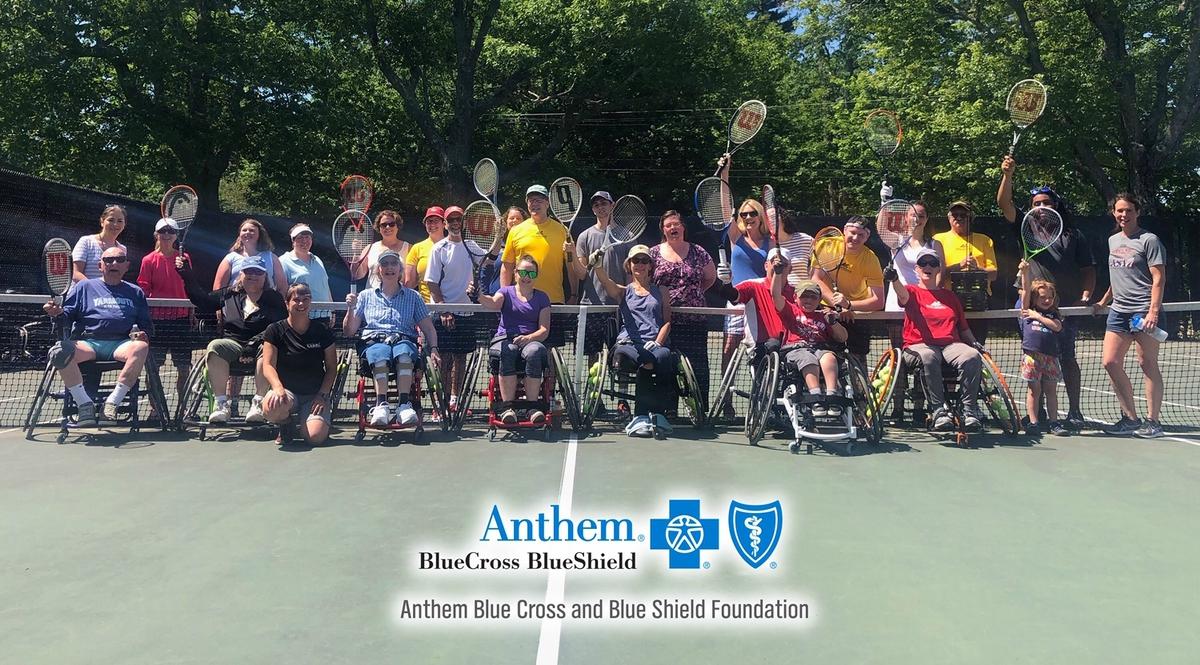 Anthem BCBS WinterKids Partner Feature MEAdaptiveSportsgroupshotJune2019
