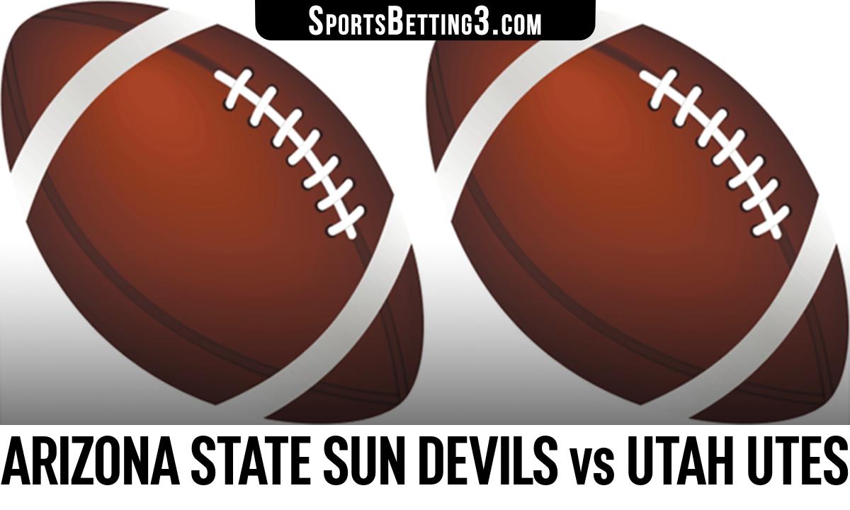 Arizona State Sun Devils vs Utah Utes Betting Odds