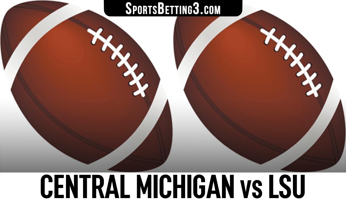 Central Michigan vs LSU Betting Odds
