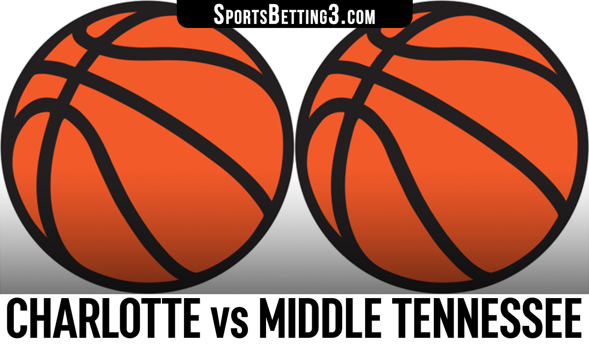 Charlotte vs Middle Tennessee Betting Odds