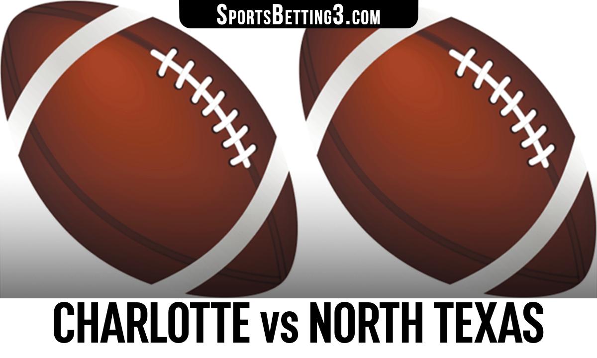 Charlotte vs North Texas Betting Odds