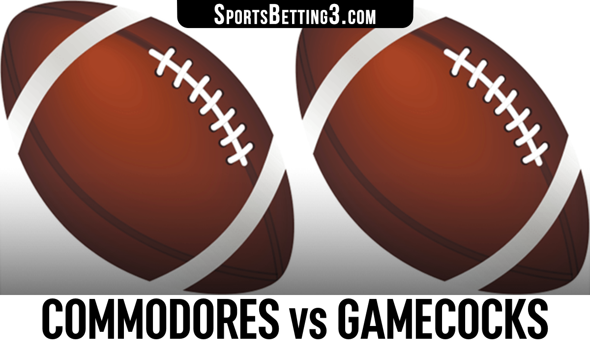 Commodores vs Gamecocks Betting Odds