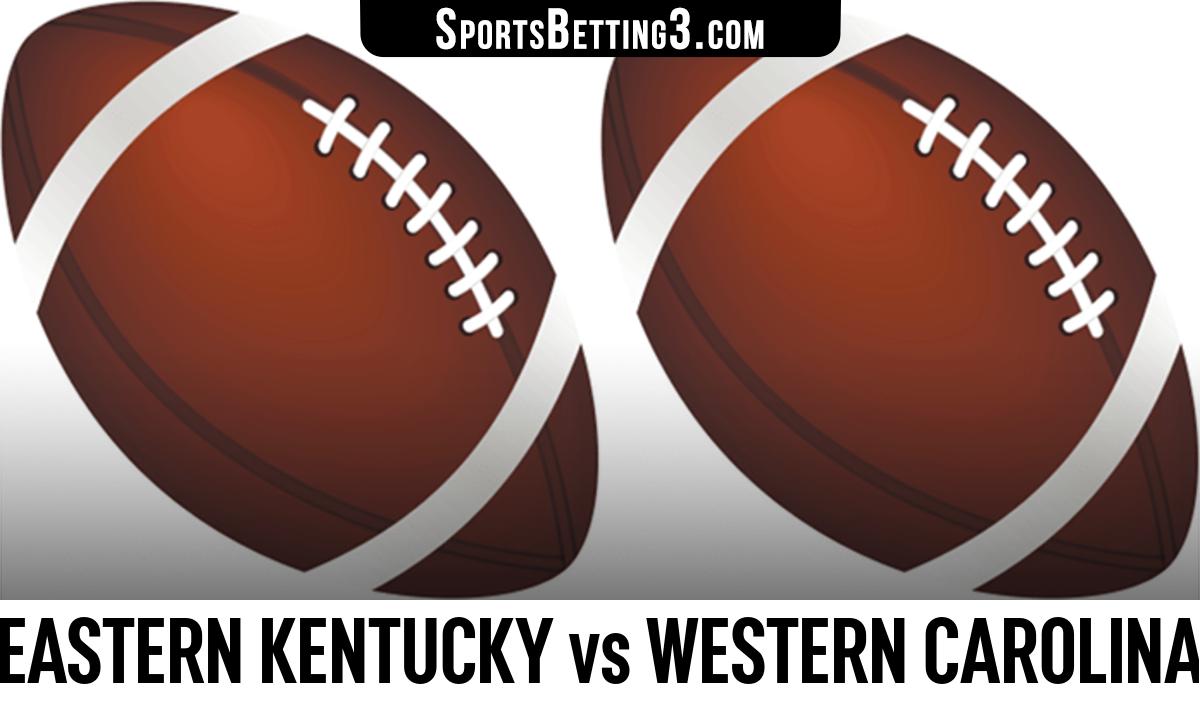 Eastern Kentucky vs Western Carolina Betting Odds
