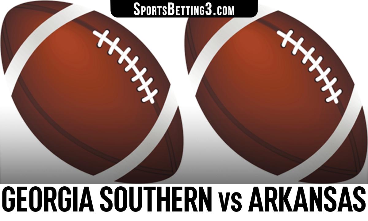 Georgia Southern vs Arkansas Betting Odds