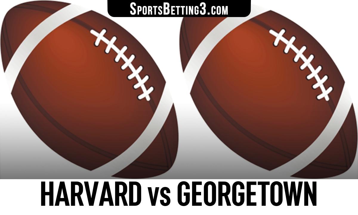 Harvard vs Georgetown Betting Odds