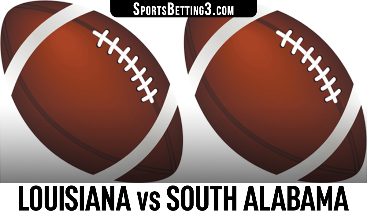 Louisiana vs South Alabama Betting Odds