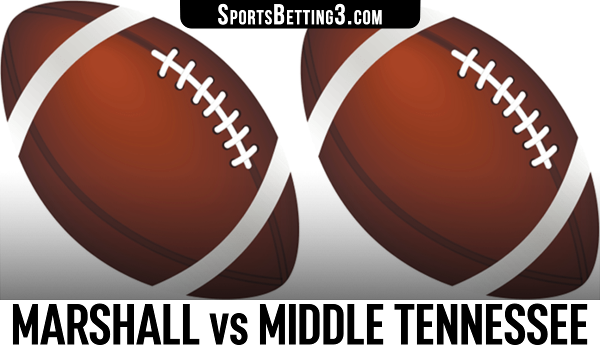 Marshall vs Middle Tennessee Betting Odds