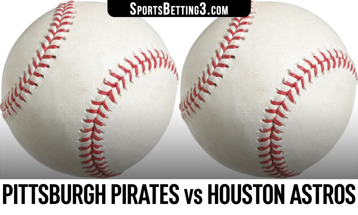 Pittsburgh Pirates vs Houston Astros Betting Odds