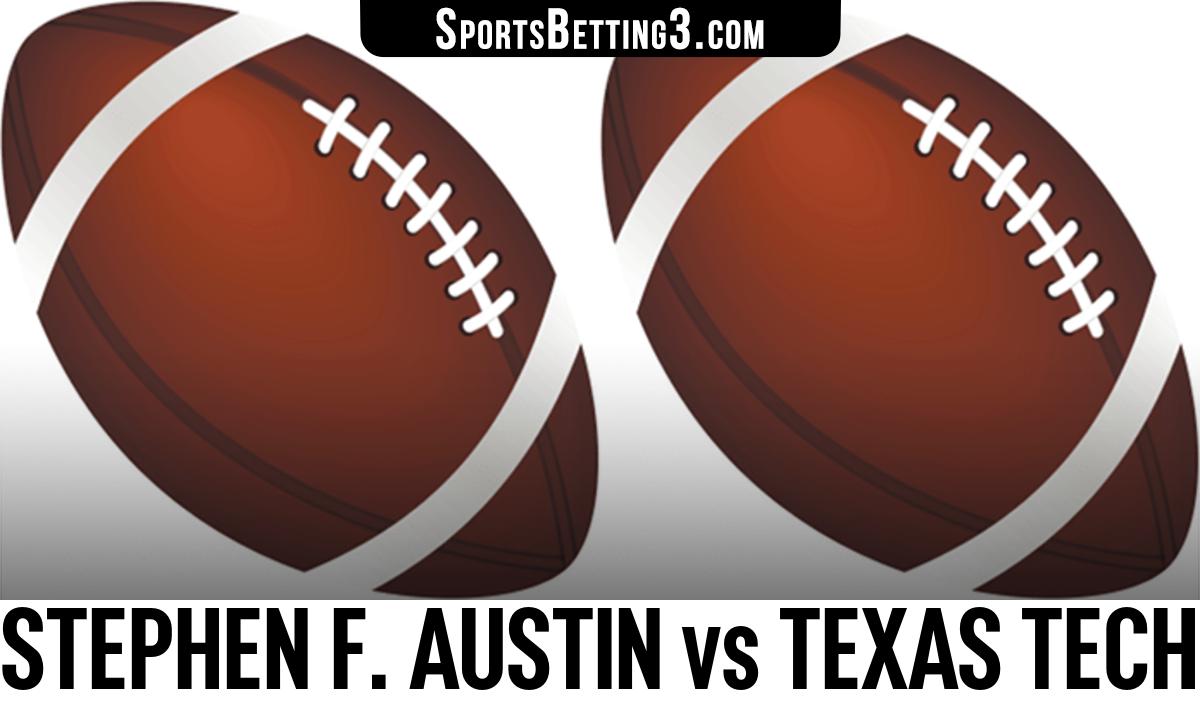Stephen F. Austin vs Texas Tech Betting Odds