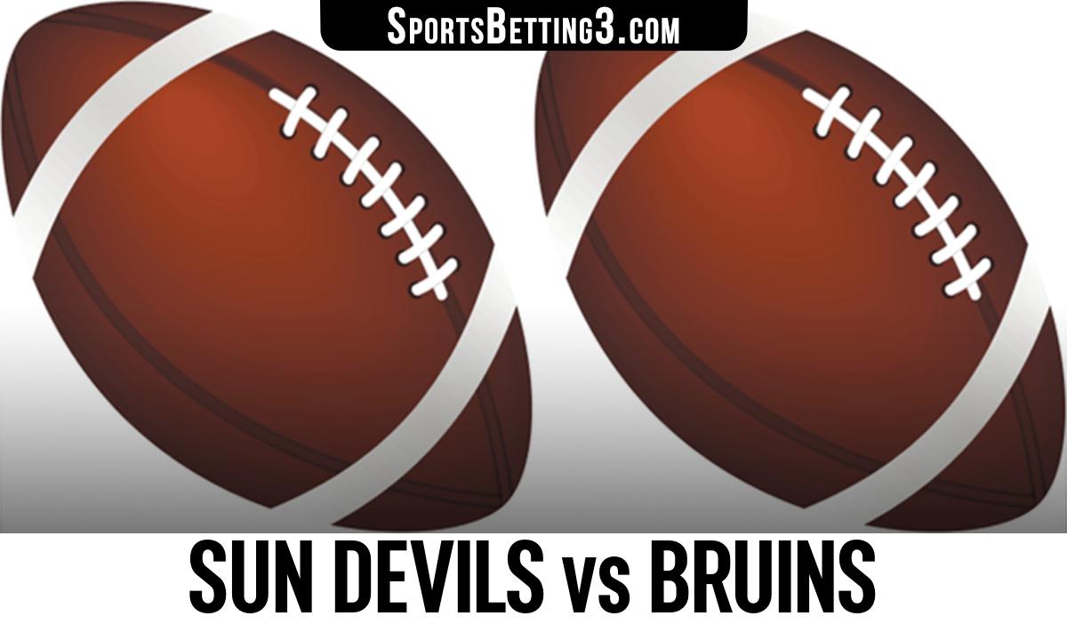 Sun Devils vs Bruins Betting Odds