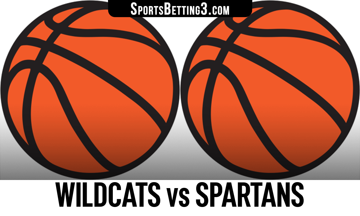Wildcats vs Spartans Betting Odds