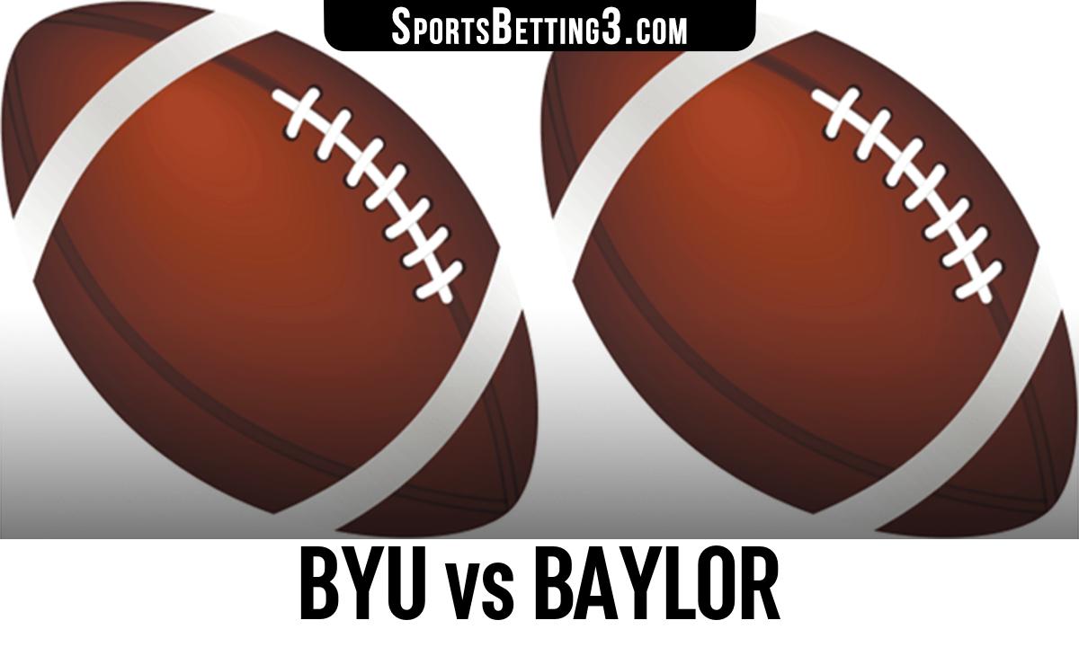 BYU vs Baylor Betting Odds