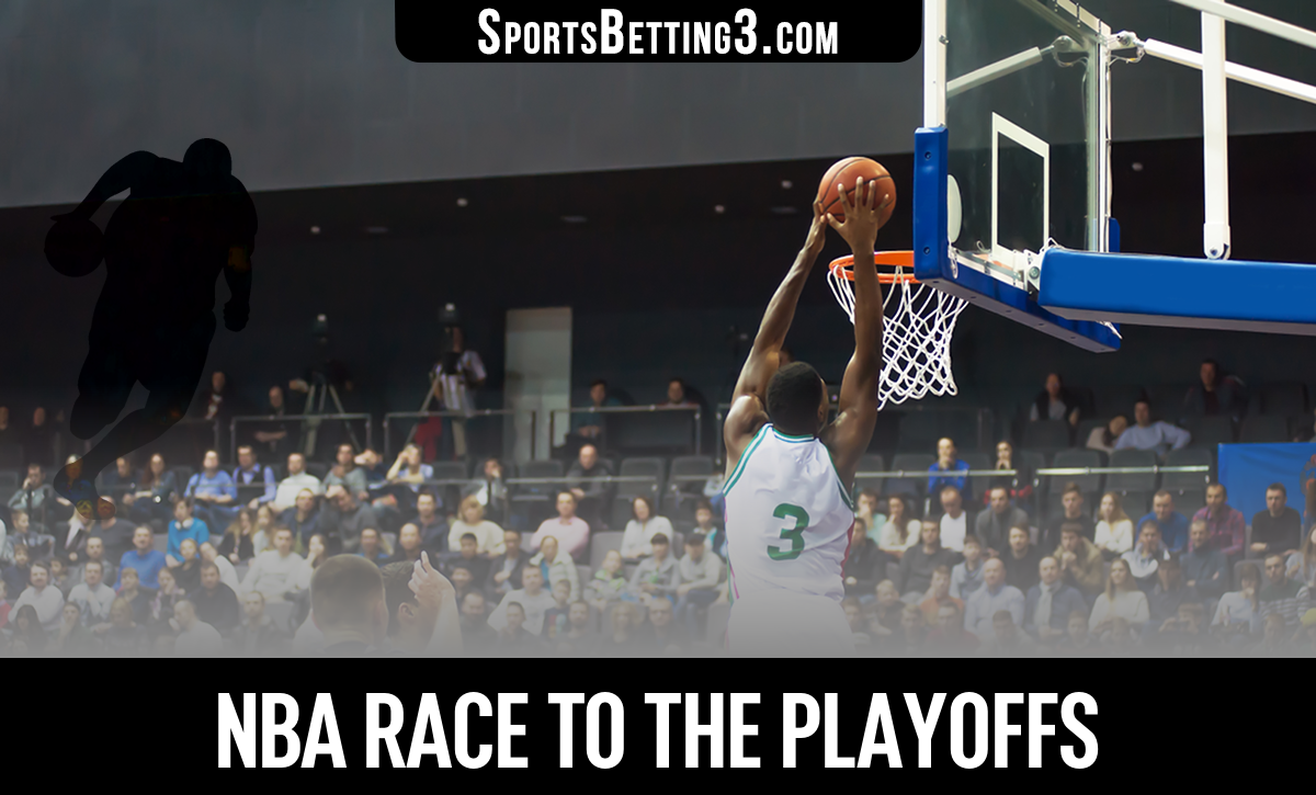 NBA Race To The Playoffs