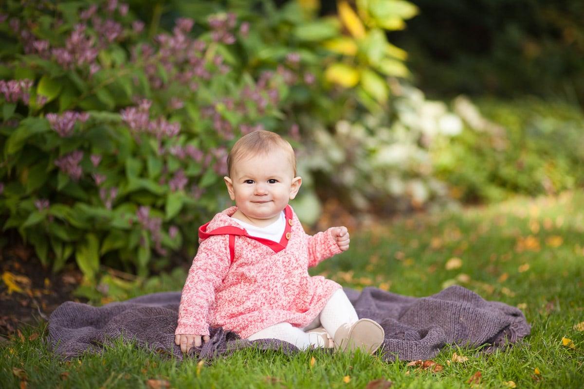 Photo of baby girlat Bishop's Garden
