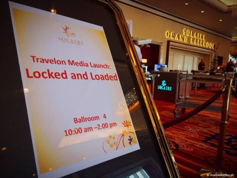 Travelon Locked and Loaded Launch
