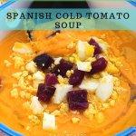 Salmorejo – Spanish Cold Tomato Soup - PIN3