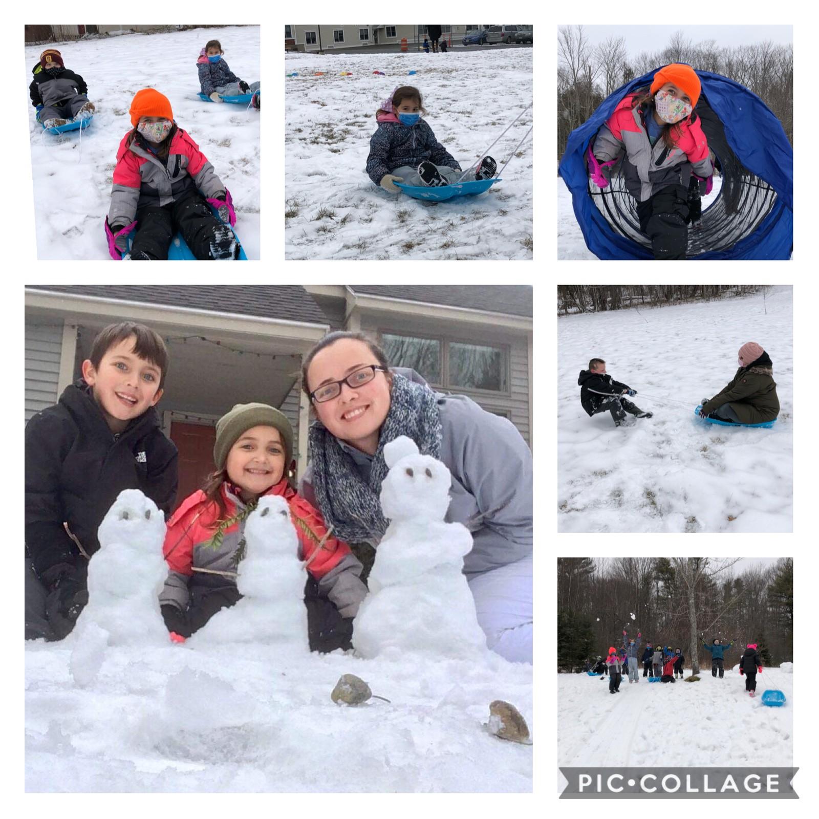 Kindergarten Leroy Smith Week 3 Winter Games 2021 Moment of the Week