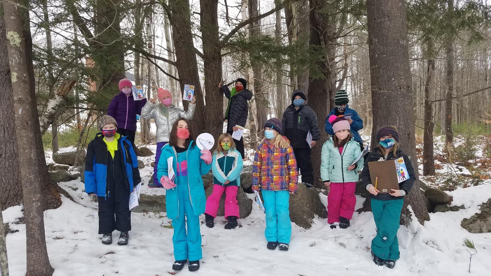 Week 1 3rd Grade Harrison Elementary Winter Games 2021 Moment of the Week
