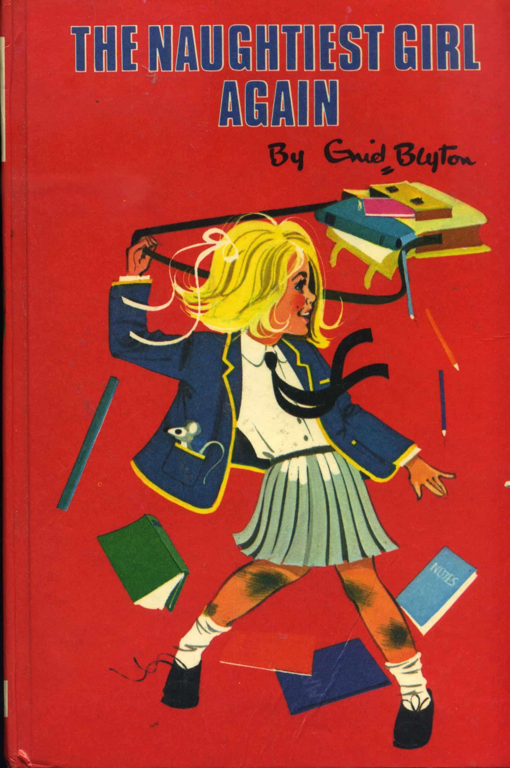 The naughtiest girl again enid blyton book