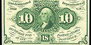 1862 1st Issue 10 Cent Note